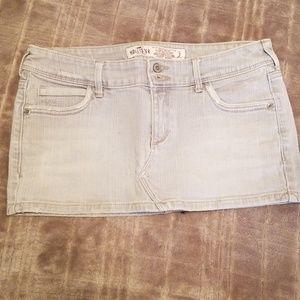Hollister Jean skirt size 3